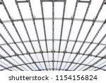 conic roof construction. frame... | Shutterstock . vector #1154156824
