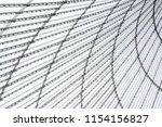 conic roof construction. frame... | Shutterstock . vector #1154156827