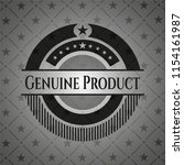 genuine product black emblem.... | Shutterstock .eps vector #1154161987
