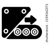 conveyor machine with... | Shutterstock .eps vector #1154162371