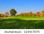golf course | Shutterstock . vector #115417075