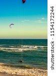 an extreme water sport... | Shutterstock . vector #1154172244