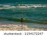 an extreme water sport... | Shutterstock . vector #1154172247