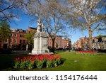 charlestown monument in honor... | Shutterstock . vector #1154176444