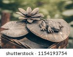 decorative forging  forged... | Shutterstock . vector #1154193754