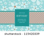 editable template for a... | Shutterstock .eps vector #115420339