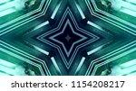 futuristic starry neon lights... | Shutterstock . vector #1154208217