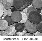stack of coins. national... | Shutterstock . vector #1154208301