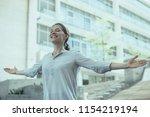 portrait of young caucasian...   Shutterstock . vector #1154219194