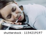 close up of young caucasian...   Shutterstock . vector #1154219197