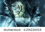 3d rendering of abstract... | Shutterstock . vector #1154226514