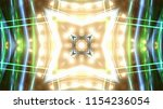 club party stage lights are... | Shutterstock . vector #1154236054