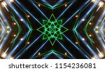 club party stage lights are... | Shutterstock . vector #1154236081