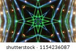 club party stage lights are... | Shutterstock . vector #1154236087