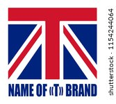 concept of logo based on...   Shutterstock .eps vector #1154244064