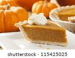 Fresh Homemade Pumpkin Pie Mad...