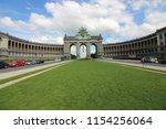 cinquantenaire park   parc du... | Shutterstock . vector #1154256064