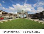 cinquantenaire park   parc du... | Shutterstock . vector #1154256067