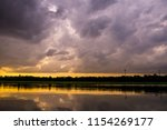 landscape of evening before... | Shutterstock . vector #1154269177