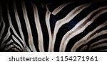 zebra print  animal skin  tiger ... | Shutterstock . vector #1154271961