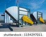 air compressor machine part of... | Shutterstock . vector #1154297011