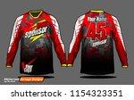 long sleeve motocross jerseys t ...   Shutterstock .eps vector #1154323351