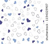 light blue vector seamless... | Shutterstock .eps vector #1154325907