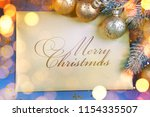 christmas and new year holidays ... | Shutterstock . vector #1154335507