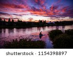 Sunset over the Deschutes River