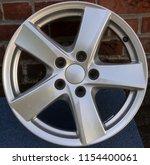 second hand alloy wheels in...   Shutterstock . vector #1154400061