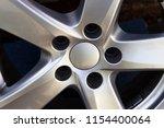 second hand alloy wheels in...   Shutterstock . vector #1154400064