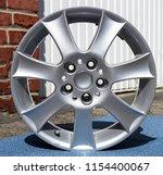 second hand alloy wheels in...   Shutterstock . vector #1154400067