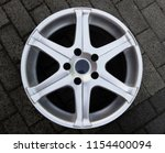 second hand alloy wheels in...   Shutterstock . vector #1154400094