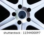 second hand alloy wheels in...   Shutterstock . vector #1154400097