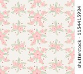 floral vector artwork for... | Shutterstock .eps vector #1154415934
