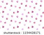 heart pattern background | Shutterstock .eps vector #1154428171