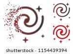vector galaxy stars icon in...   Shutterstock .eps vector #1154439394