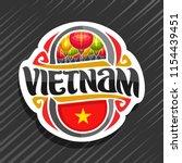 vector logo for vietnam country ... | Shutterstock .eps vector #1154439451