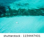 an aerial view of isla mujeres... | Shutterstock . vector #1154447431