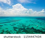 an aerial view of isla mujeres... | Shutterstock . vector #1154447434