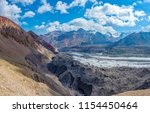 a view of the high altitude... | Shutterstock . vector #1154450464