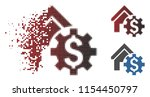 vector house rent options icon...   Shutterstock .eps vector #1154450797
