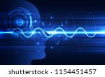 artificial intelligence. ai... | Shutterstock .eps vector #1154451457