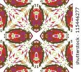 raster seamless abstract... | Shutterstock . vector #115446277