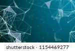 abstract polygonal background... | Shutterstock . vector #1154469277