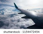 airplane flying and traveling ... | Shutterstock . vector #1154472454