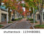 fall colors in the city ... | Shutterstock . vector #1154480881