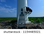 wind power equipment | Shutterstock . vector #1154485021