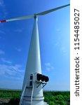 wind power equipment | Shutterstock . vector #1154485027