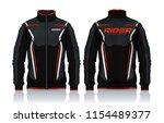 jacket design sportswear track... | Shutterstock .eps vector #1154489377